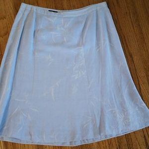 Giorgio Armani Linen/Rayon Skirt